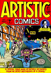 Robert Crumb - Artistic Comics (1976) (oerendhard1) Tags: art robert illustration magazine comics underground book comic drawing secret humor strip comix comicbook characters 1976 sketchbooks crumb rcrumb stripverhaal undergroundcomics artisticcomics