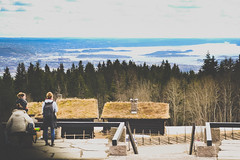 Oslo|19 (Simone.Oliva) Tags: wood blue sea sky white house black color oslo norway museum architecture photography opera folk norvegia museet operahuset fearnley astrup nasjonal
