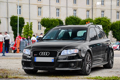 Audi RS4 (Alexandre Prvot) Tags: auto france cars car sport automobile european parking transport automotive voiture route exotic nancy lorraine 54 supercar luxe berline exotics supercars ges 54000 dplacement meurtheetmoselle worldcars grandestsupercars