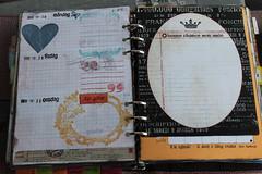 A spread (ideabook.se) Tags: diy calendar diary journal organizer homemade agenda planner filofax lorddodo