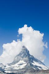 Zermatt & Matterhorn, Switzerland (Gabriel GM) Tags: mountains alps clouds landscape switzerland path trains hike zermatt matterhorn zermattmatterhorn switzerlandlandscape landscapeswitzerland hikepath