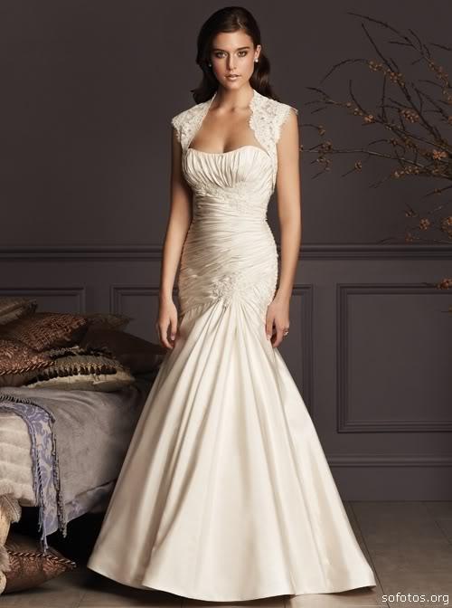 Vestido de noiva com manguinha