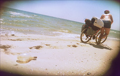 0209 (by_cycle) Tags: travel camping sea camp vacation people black beach nature bicycle freedom coast ride odessa ukraine tandem eco            vilkovo lebedevka