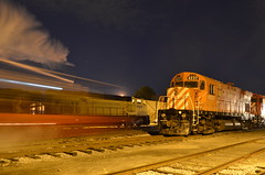 John Molson passes some MLW's (Michael Berry Railfan) Tags: quebec m canadianpacific cp mlw exporail stconstant montreallocomotiveworks johnmolson c424 canadianrailwaymuseum cp4237