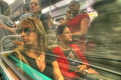 Traveling (ido1) Tags: travel paris love lady metro move hdr