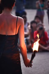 art (dario.lolli) Tags: street art argentina fire dance nikon arte danza blanca tango bahia fuego d5100