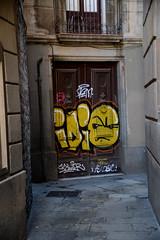 Hidden Exit (Smith-Bob) Tags: barcelona street city espaa streetart art graffiti spain europe catalonia vision:text=0667