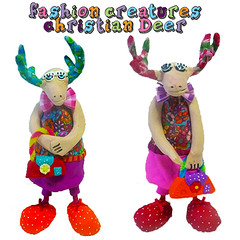 fashion creatuers (**mira pinki krispil-colors of life ***) Tags: sculpture flower art colors fashion animal cane design israel handmade decoration polymerclay fimo clay collectible creatures mira whimsical pinki polymer millefiori homedecore mirakris krispil