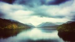Misty mountain hop (c@rljones) Tags: lake rain wales cymru android phonetography gwynedd llynpadarn llanebris snapseed flickrandroidapp:filter=none galaxys4