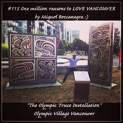 | no.115 | | The Olympic Truce Installation | (onemillionreasonstolovevancouver) Tags: world city people tourism home promotion vancouver cool realestate profile today olympicvillage l4l vancity downtownvancouver metrovancouver onemillion cityofvancouver vancouverite vancouvercity vancouvertourism vancouverrealestate vanone awesomevancouver trueinstallation instaphoto instagood instafollow uploaded:by=flickrmobile flickriosapp:filter=nofilter miguelboccanegra thegreatervancouverarea