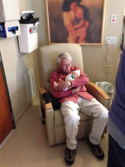 "Grandpa Morton Holds Paul for the First Time • <a style=""font-size:0.8em;"" href=""http://www.flickr.com/photos/109120354@N07/10953370565/"" target=""_blank"">View on Flickr</a>"