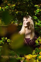 Herbstmelodie 2 (ya.yuli) Tags: woman girl 50mm herbst frau sonne bltter sonnenschein