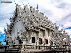 Wat Rong Khun Temple @ Chiang Rai, Thailand, Asia
