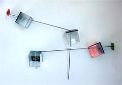 LBDMLCRDC-X   ( 2000 ), plexy, film mtallique, inox. (emmanuelviard75) Tags: films inox plexy