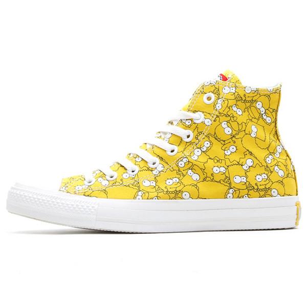 The Simpsons X Converse ALL STAR 聯名鞋款