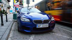 BMW M6 Gran Coup F14 (koza128) Tags: blue cars car sedan map f14 poland polska spot german bmw warsaw gran spotted m6 supercar spotting warszawa coup supercars mpower carspotting