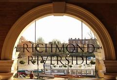 Richmond Riverside (Sarah-JaneG) Tags: signs water thames river boats arch riverside letters richmond riverthames