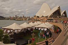Sydney's washing day blues or is it whites? (loobyloo55) Tags: white sydney australia operahouse washing sydneyoperahouse