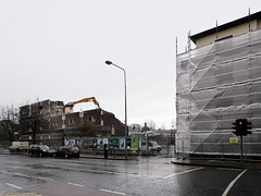 Charlemont Street flats demolition 24th-January-2014 #1 (turgidson) Tags: street ireland dublin house digital studio scott lens ed four lumix prime michael high raw angle 5 g wide version wideangle olympus demolition m panasonic flats developer micro pro f2 reach 12mm zuiko dmc mullen thirds liebherr f20 954 m43 silkypix charlemont primelens gh2 ffrench michaelscott mirrorless 50450 lumixg charlemontstreet highreachdemolition microfourthirds panasonicgh2 panasoniclumixdmcgh2 p1190314 olympusmzuikodigitaled12mmf20 silkypixdeveloperstudiopro5 ffrenchmullenhouse