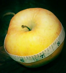 Apple and Tape measure 2