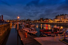 At the marina (James Waghorn) Tags: longexposure winter light sea england sky water clouds marina reflections boat kent nikon sigma ultrawide lightroom ramsgate sigma1020 d7100 ramsgateroyalharbour blinkagain