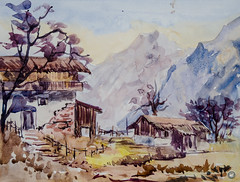 Watercolor (adilrasheedonline) Tags: watercolor paintings
