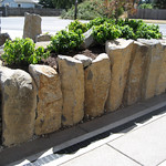 """Greenhaven Landscapes Inc., stone columns, column retaining wall, rock retaining wall <a style=""""margin-left:10px; font-size:0.8em;"""" href=""""http://www.flickr.com/photos/117326093@N05/12491388605/"""" target=""""_blank"""">@flickr</a>"""
