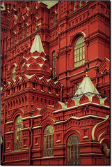 In Red... (rogilde - roberto la forgia) Tags: travel red vacation building canon hp russia palazzo rosso colori mosca italians vocation piazzarossa pinnacoli cremlino mygearandme mygearandmepremium mygearandmebronze