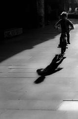 Shadow Rider @ Southbank Skatepark (dave.tay1or) Tags: shadow urban blackandwhite bw london bicycle silhouette thames flickr olympus southbank skatepark 45mm omd lightroom m43 em5 500px lr4 microfourthirds mzuiko