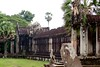 King's Gate (Right) of Angkor Wat (Patumraat) Tags: world old travel holiday building tourism architecture wonder thailand temple ancient cambodia vishnu god religion ruin culture buddhism siem classical civilization wat hindu asean reise reab
