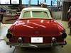 Ford Thunderbird 1955-56 hier mit einem nicht originalen Nachrüstgestänge und einem dadurch völlig eigenen Verdeckbezug