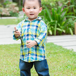 Boy at grass filed thumbnail