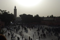 Koutoubia over the Square