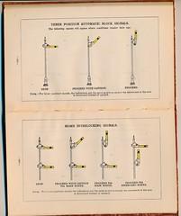 C&EI Signal Rules 1919 (Mark Vogel) Tags: railroad train eisenbahn railway signal cei signaux chemindefer signale rulebook chicagoeasternillinois operatingrules signalchart signaldiagram signalaspects signalbilder