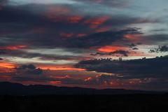 Arizona sunset (twm1340) Tags: county sunset arizona forest fire slide az yavapai 28may2014