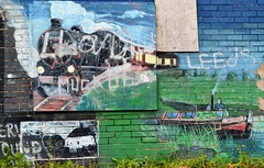 Warrington Street Art (Duane Jones Cheshire1963) Tags: street blue news green art wall train wonder warrington nikon media flickr grafitti cheshire artistic leeds scene steam local may24 may25 dallam ift bewsey