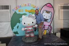 EVA Air Hello Kitty Houston Celebration (AirlineReporter.com) Tags: hellokitty houston shiningstar iah evaair georgebushintercontinentalairport houstonintercontinental evaairlines boeing777300er hellokittylivery hellokittyeva b16722 shiningstarlivery