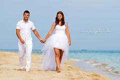 Dóri & Dilen (Pittyphotos) Tags: wedding sea love beach beauty canon happy eos groom day turtle cyprus marriage celebration 7d heartbeat
