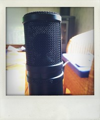 talk to me (larsniel) Tags: microphone condenser