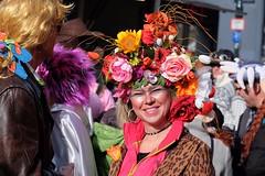 FREIBURG - BE SURE TO WEAR SOME FLOWERS IN YOUR HAIR (Punxsutawneyphil) Tags: europa europe deutschland germany alemania badenwürttemberg badenwuerttemberg freiburg baden fribourgenbrisgau freiburgimbreisgau friburg breisgau süddeutschland southerngermany karneval fasching carnival fastnacht fasnet narren jester jesters häs kostüm tradition catholic katholisch rosenmontag larve maske mask german deutsch alemannisch alemannic people guys leute menschen celebration umzug parade rosenmontagszug karnevalsumzug feiern party fete narrinarro narri narro zunft zünfte fasnetzunft fasnetzünfte fastnachtszunft fastnachtszünfte colorful bunt colors positive traditional blumen blumenschmuck frau woman flowers flowersinhair blumenimhaar