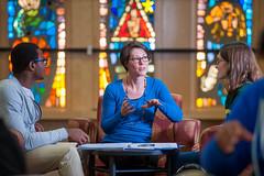 In Pursuit of Learning (stnorbert) Tags: springcollege2016 stnorbertcollege uespring2016 elkins advising professor