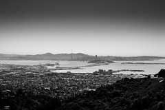 Bay Bridge from far far away (Carrie Gong Photography) Tags: bridge landscape photography bay away carrie phot far gong