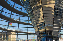 Reichstag Dome Interior I (Paul 'Tuna' Turner) Tags: city travel vacation holiday berlin history architecture germany deutschland europe eu parliament historic reichstag german dome government historical bundestag mitte tiergarten europeanunion houseofparliament deutsch sirnormanfoster historicbuilding capitalcity neoclassicalarchitecture paulwallot germangovernment neobaroquearchitecture