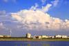 clouds (Thunderbolt_TW) Tags: sunset sea sky sun reflection water windmill canon landscape taiwan 夕陽 台灣 日落 風景 windturbine 彰化 changhua 風車 彰濱 西濱 肉粽角 彰濱工業區 風景攝影 hsienhsi 線西 5d2 changpingindustryarea