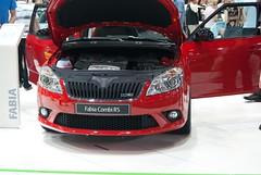 DSC07367 (mirekstrnad) Tags: brno motor rs autosalon fabiaii skoda cervena