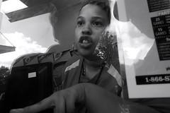 Camden, NJ - 2013 (Alan Barr) Tags: street people blackandwhite bw reflection monochrome mono blackwhite newjersey camden candid nj streetphotography olympus sp streetphoto tg1