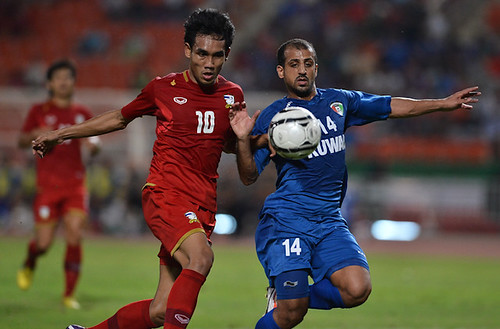 Footbal Asian Cup 2015 [Qualifier] Thialand - Kuwait