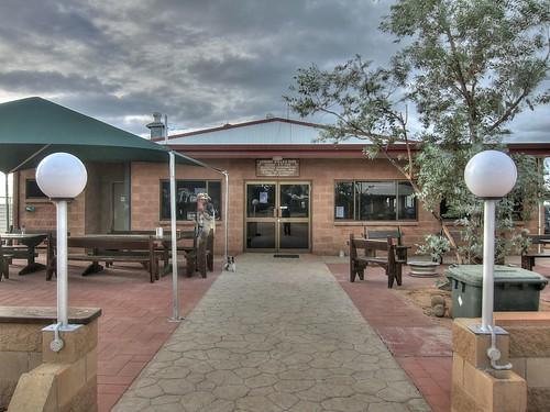 Simpson Desert Oasis Roadhouse.  Bedourie, QLD, Australia.