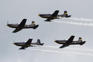 R Netherlands AF 4x Pilatus PC-7 L-01, L-03, L-07, L-12