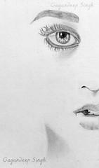 sketch (pixxstudios) Tags: art girl pencil sketch hand drawing drawn